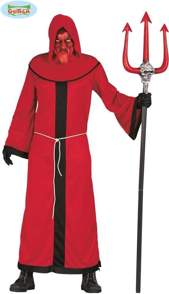 Disfraz para hombre de Demonio rojo para Halloween: Amazon.es ...