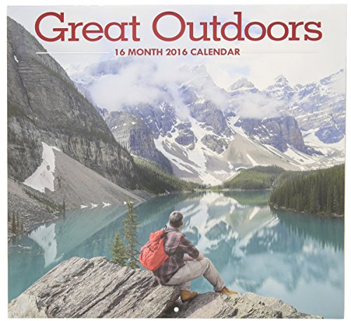 2016 Great Outdoors 16 Month Wall Calendar