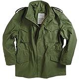 Alpha Industries Men's M-65 Field Coat,Olive Green,Small