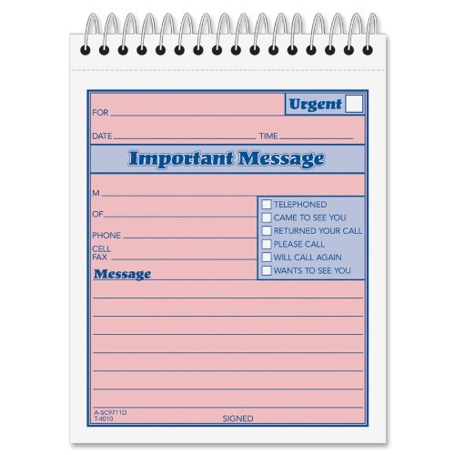 ABF9711D - Adams business forms Adams While You Were Out Message Pad by Adams Business Forms