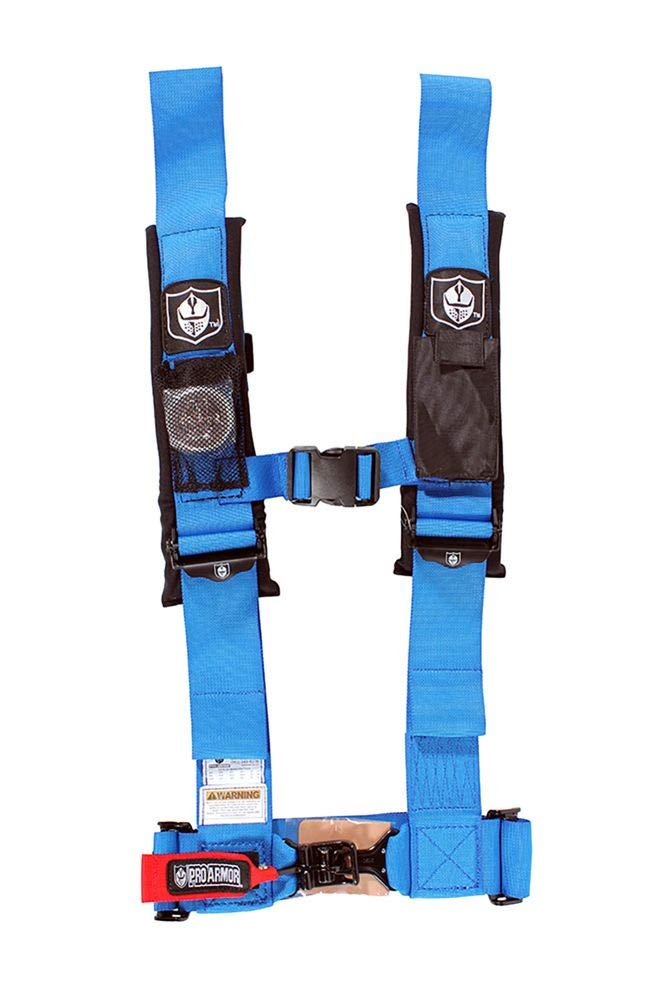 Pro Armor A114230RD Red 4-Point Harness 3 Straps