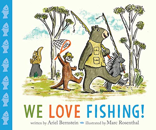 Book Cover: We Love Fishing!