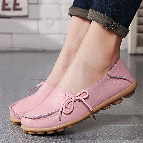 Gran Calzado Sandalias Solo Zapatillas Número Mamá Moda Rosa Cómodos Damas Perezosos Casual Zapatos Mujer Un De HgFwTFxX