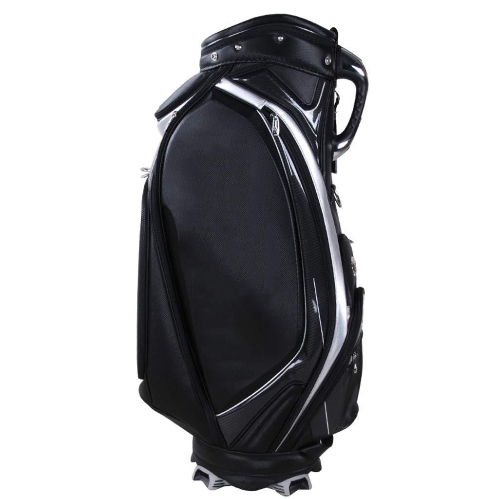 ゴルフバッグ、100%防水、マルチカラーオプション happyL (Color : 黒) 黒