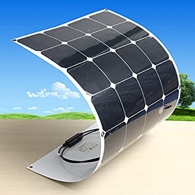 C&C Products 18V 100W 1050MM x 550MM Efficient Semi Flexible Solar Panel