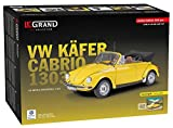 1/8 Scale VW Volkswagen Beetle Yellow Cabriolet Model car kit by LeGrand