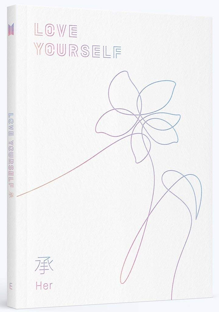 BTS - LOVE YOURSELF 承 [Her] [E ver.] +Photobook+Photocard+Folded Poster+ Store Gift 10 Photo Set by BigHit Entertainment