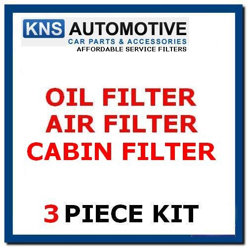 Getz 1.1,1.3,1.6 (02-09) Air,Cabin & Oil Filters Service Kit:
