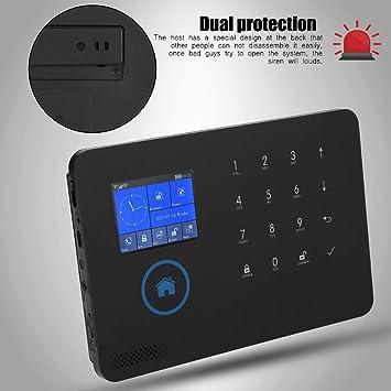 ASHATA Kit Alarma de Inteligente Inalámbrica(WiFi + 3G + gsm ...