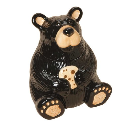 Animal Cookie Jars -Bear Ceramic Cookie Jar