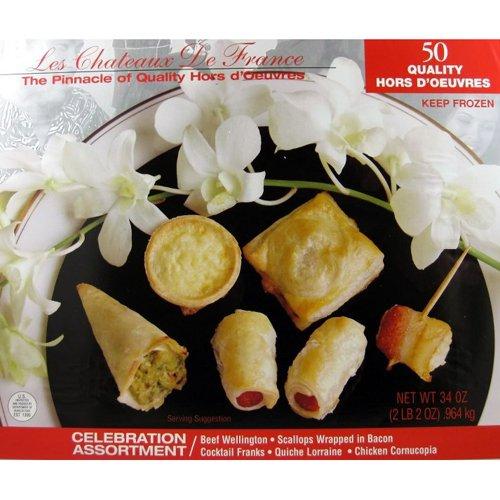 (Celebration Appetizer Assortment - 50 Pcs)