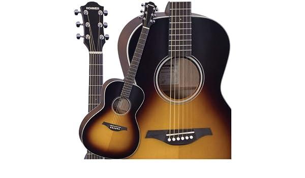 Hohner er1-soosb esencial raíces Soo Sunburst guitarra acústica ...