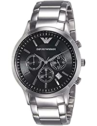 Mens AR2434 Dress Silver Watch. Emporio Armani