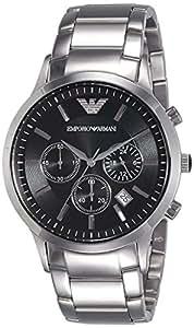 Emporio Armani Men's Classic Analog Analog-quartz Silver Watch, (AR2434)
