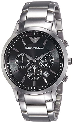Emporio Armani Men's AR2434 Dress Silver - Armani Men Uk
