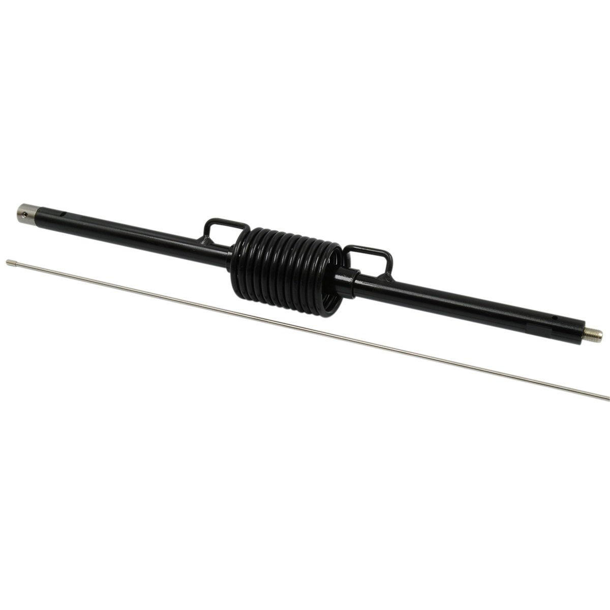 Pro Trucker 48'' Open Coil Antenna - 3,000 Watt Power Rating & Field Tuneable - Black Finish