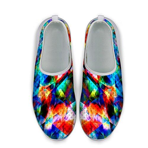 Knuffels Idee Heren Water Schoenen Mesh Lichtgewicht Slip Op Schoenen Multicolor