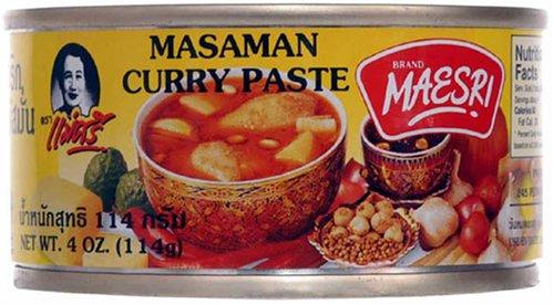 (Masaman Curry Paste Maesri 4 Oz)