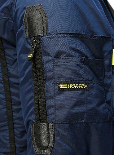 para Hombre Marino Abrigo Azul Geographical Norway 76x1qwBn7