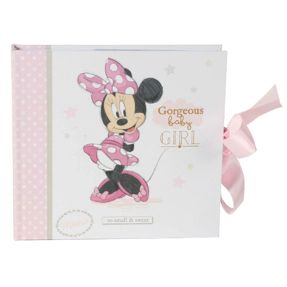 Officially Licensed 50 Pictures Happy Homewares Disney Welcome to The World Little One Bambi Album with Ribbon