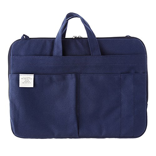 500425 Inner Carrying Bag Size A4 Dark Blue Pouch Case Bag
