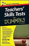 Teacher's Skills Tests For Dummies