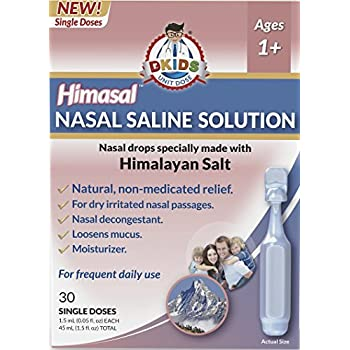 how to make saline solution for inhalation