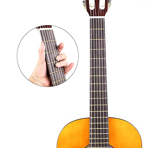 CNBLUE 3/4 Size Classical Acoustic Guitar 36 inch Nylon Strings Guitar for Beginners Kid Guitar - Image 4