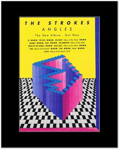 "The Strokes Angles poster wall art home decoration photo print 24/"" x 24/"" inches"