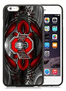 Fashionable iPhone 6 Plus/iPhone 6S Plus TPU Case ,Unique And Popular Designed Case With Ohio State University(OSU) Buckeyes Black iPhone 6 Plus/iPhone 6S Plus TPU Great Quality Screen Case