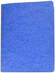 GBC Recycled ScoRed Hinge Report Covers, Side Bound, 8.5 Inch Centers, 3 Inch Capacity, Medium Blue, 10 Covers per Pack (A7025102)