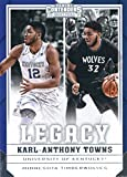 #7: Basketball NBA 2017-18 Panini Contenders Draft Picks Legacy #19 Karl-Anthony Towns