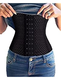 Waist Trainer Corset for Weight Loss Fat Burner Tummy Control Sport Workout Body Shaper for Women