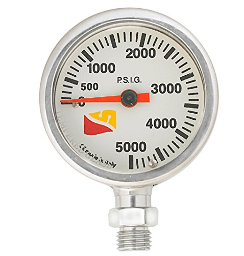 - Dive Rite Mini Tech Pressure Gauge