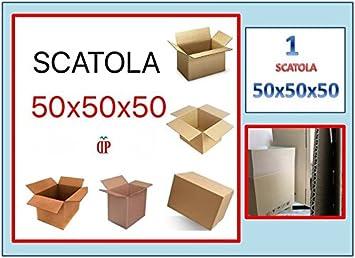 Caja de cartón tamaño 50 x 50 x 50 (49 x 48 x 48) Avana PZ 1 Mudanza Embalaje Embalaje: Amazon.es: Oficina y papelería