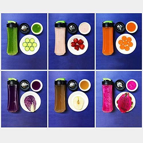 JJSFJH Centrifugeuse portative multifonctionnelle de ménage, Mini centrifugeuse, Fruits et légumes centrifugés à 3 Vitesses, sans BPA