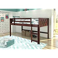 Donco Kids Circles Low Loft Bed, Twin