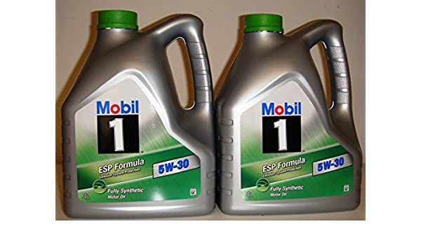 Mobil 1 Esp Formula 5W30 - Aceite para motor (100 % sintético, aprobado por BMW y Mercedes, 2 garrafas de 4 litros, 8 litros en total): Amazon.es: Coche y ...
