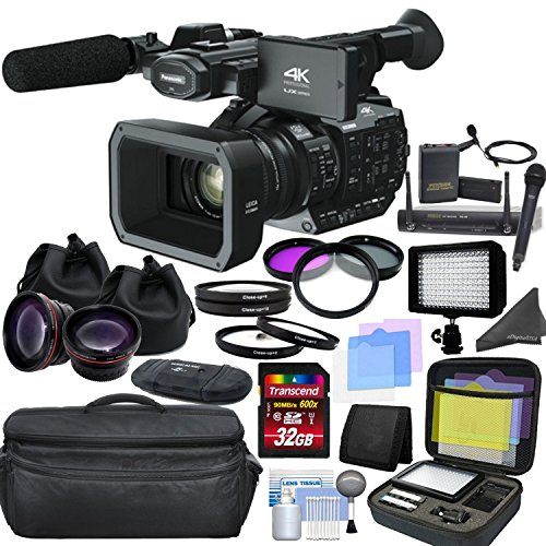 Panasonic AG-UX90 4K/HD Professional Camcorder with CINEMAGI
