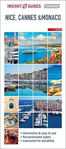 Insight Guides Flexi Map Nice, Cannes and Monaco (Insight Flexi Maps)