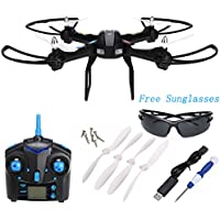 Arshiner JJRC H28 2.4GHz 4Ch 6-Axis Gyro RC Drone Headless Mode CF mode With Landing Gear&Glasses RTF Quadcopter