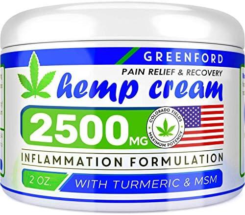 Pain Relief Hemp Cream 1000