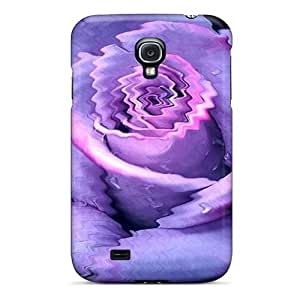 Durable Purple Love Back Case/cover For Galaxy S4