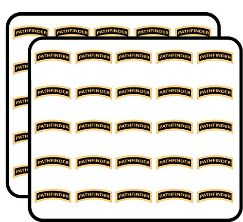 - US Army Pathfinder Tab 50 Pack Sticker for Scrapbooking, Calendars, Arts, Album, Bullet Journals and More 1
