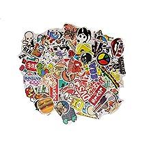 BOMB A 100 Pieces Random style Sticker BOMB Vinyl decal for bumper phone laptop bike etc by Picavinci Design