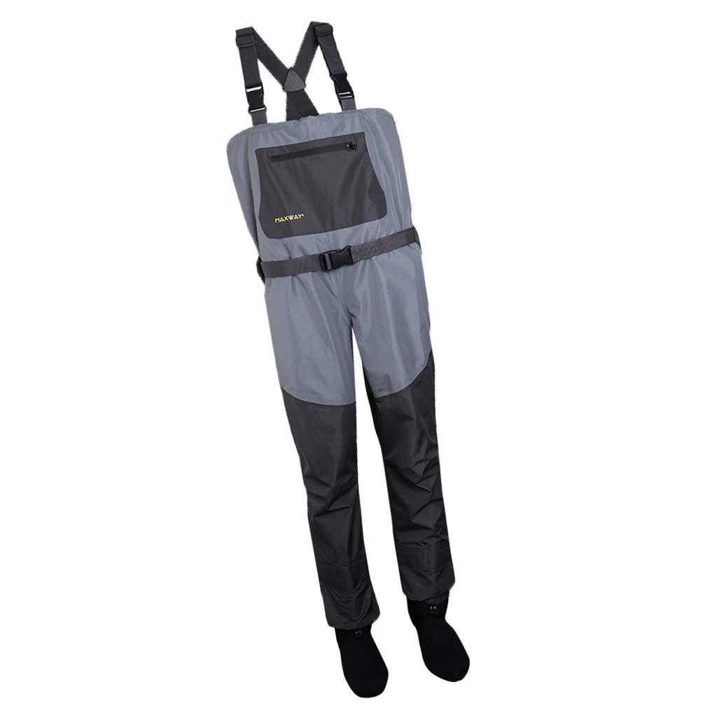 【限定セール!】 FLAMEER ウェーダー 靴下 ズボン Yバック FLAMEER バックル付 B07Q8XT5CN 水作業 鮮魚店 ウェーダー 水作業 全5サイズ XXL B07Q8XT5CN, ナンガイムラ:687c2cbf --- a0267596.xsph.ru