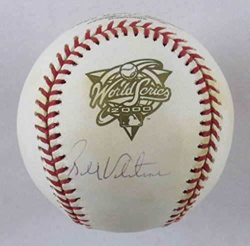 (Bobby Valentine Signed Ball - Rawlings 2000 World Series Steine - Autographed Baseballs)