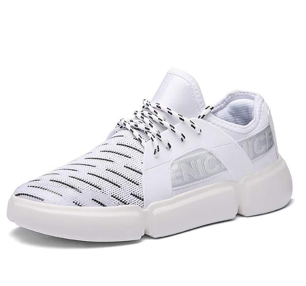 LIGYM lässige männer Schuhe, Liebhaber Casual Schuhen, Fliegen aus Laufen, weiße Schuhe