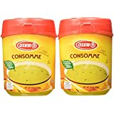 Osem Consomme Soup & Seasoning Mix, Chicken Flavored, 14.1-Ounce Containers (Pack of 4)