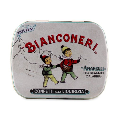 Confettini Bianconeri Licorice 20g licorice bits by Amarelli